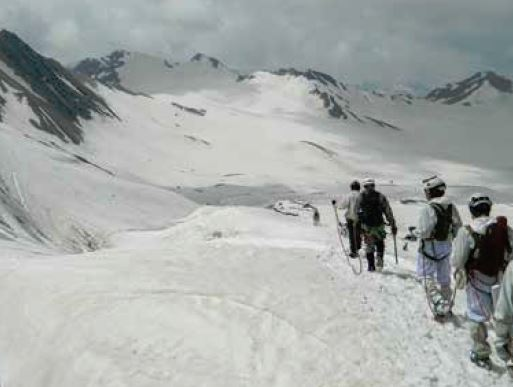 1st Special Forces Mountaineering in India