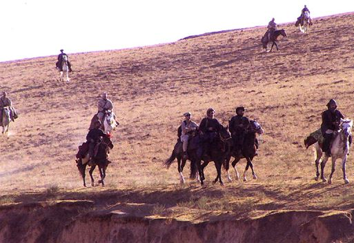 Special Forces on Horseback in Afghanistan 2001