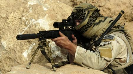 Special Forces Sniper in Iraq