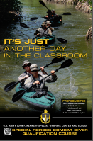 Special Forces Dive School - Kayaks
